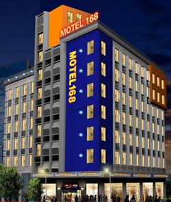 涡阳莫泰168酒店家用强化木地板工程案例